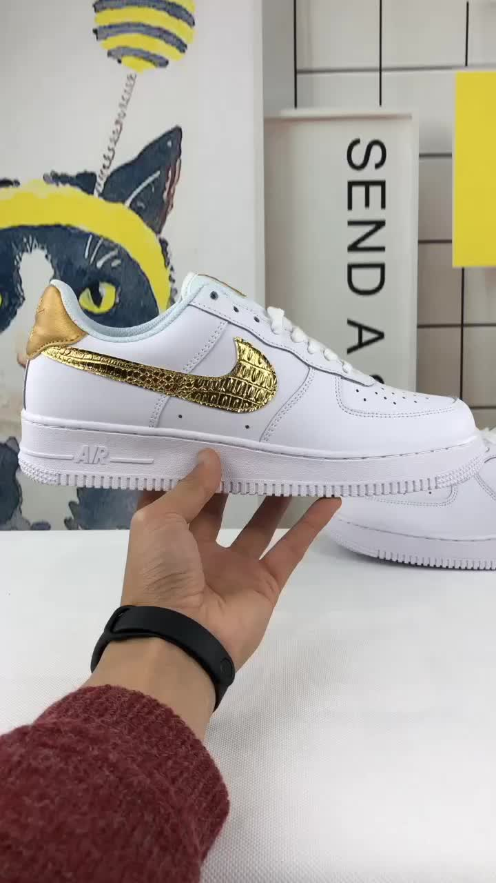d586367970079 48usd Nike Air Force One just do it off-white and two different shoes77